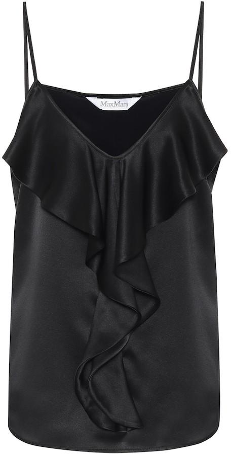 CT42 Women's Cami Camisole Vest Satin Silk Strappy Sleeveless White 14//16