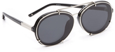3.1 Phillip Lim Round Aviator Sunglasses