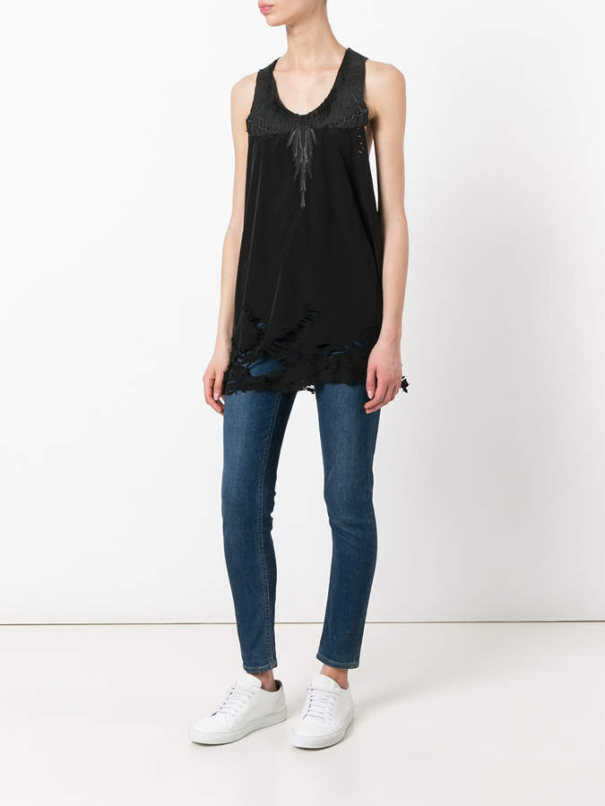 Marcelo Burlon County of Milan embroidered tank
