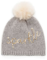 Oasis Sparkle Embroidered Beanie