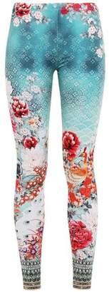 Camilla Crystal-embellished Stretch-modal Leggings