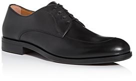 HUGO BOSS Men's Regent Leather Apron-Toe Oxfords