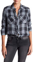 William Rast Mercer Western Slim Plaid Shirt