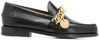 Givenchy Chain Detail Loafers
