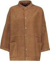 Current/Elliott The Tassled Oversized Chore suede jacket