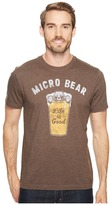 Life is Good Micro Bear Crusher Tee Men's Short Sleeve Pullover