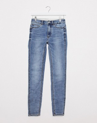 Pimkie sustainable pushup skinny jean in blue