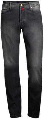 Kiton Faded Dark Wash Jeans