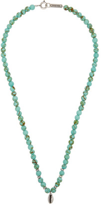 Isabel Marant Blue Mr Grigri Necklace