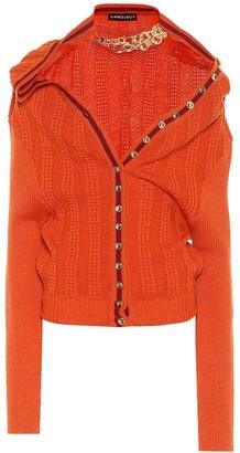 Y/Project Embellished wool cardigan