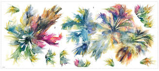 York Wall Coverings York Wallcoverings Watercolor Palm Trees Peel and Stick Giant Wall Decals