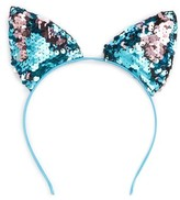 Capelli of New York Sequin Cat Ears Headband