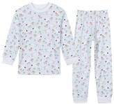Kissy Kissy Pale Blue Sledging Animal Print Pyjamas