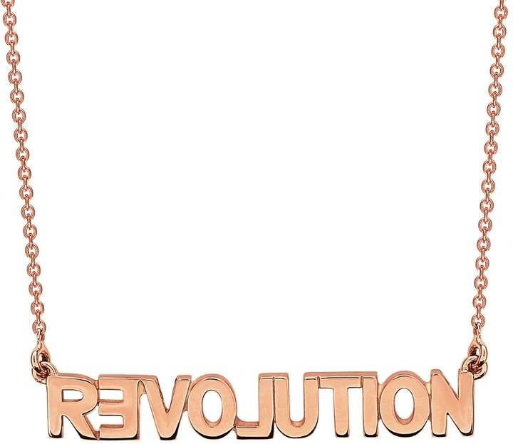 ginette_ny Fairy Revolution Necklace - Rose Gold