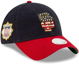 New Era Women's Navy San Francisco Giants 2019 Stars & Stripes 4th of July 9TWENTY Adjustable Hat