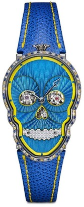 Fiona Kruger Petit Skull diamond watch