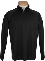 Tri-Mountain Men's Big And Tall 1 4 Zip Pullover Shirt