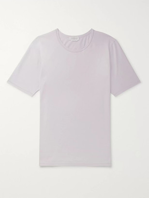 Gabriela Hearst Banderia Cotton-Jersey T-Shirt - Men - Purple