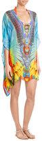 Camilla Embellished Silk Tunic Dress