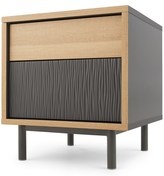 Parky Bedside Table, Oak and Grey