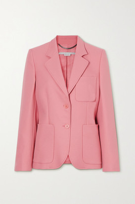 Stella McCartney + Net Sustain Eleanor Twill Blazer - Pink