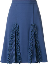 Marco De Vincenzo ruffled detail a-line skirt