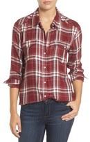 Paige Mya Plaid Shirt