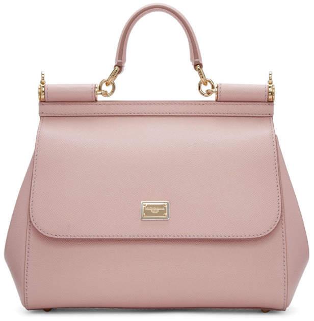 Dolce & Gabbana Pink Medium Miss Sicily Bag