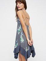 Free People Faded Bloom Mini Dress