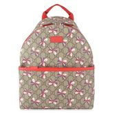 Gucci Childrens Unisex Gg Bow Backpack