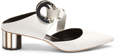 Proenza Schouler Front-tie block-heel leather sandals