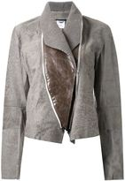 Ann Demeulemeester zipped front fitted jacket
