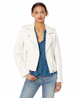 Blank NYC Women's Vegan Leather Jacket Outerwear