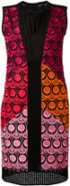Capucci pleated neckline dress - women - Cotton/Polyamide/Polyester/Spandex/Elastane - 40