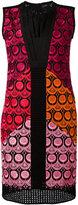 Capucci pleated neckline dress - women - Cotton/Polyamide/Polyester/Spandex/Elastane - 44
