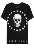 Philipp Plein Around The World Swarovski-embellished Cotton T-shirt