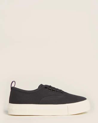 Eytys Black Mother Canvas Platform Sneakers