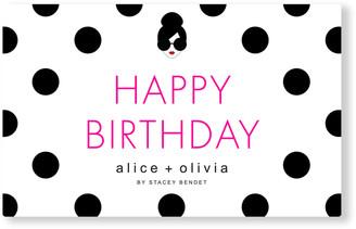 Alice + Olivia Happy Birthday E-Gift Card