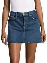 Current Elliott Reese Denim Mini Skirt