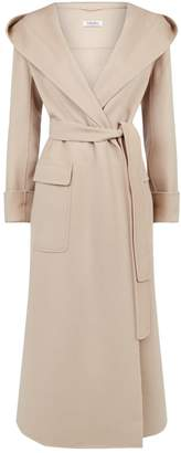 Max Mara Wool Hooded Coat