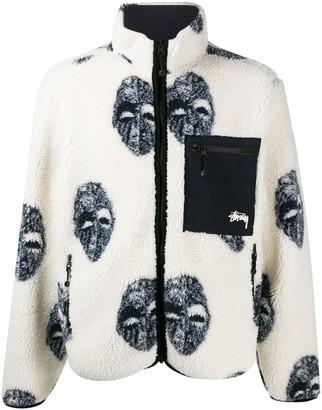 Stussy Mask sherpa jacket