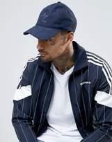 Adidas Originals Suedette Cap In Blue Bk7004