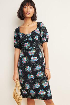 Anthropologie Scarletta Sweetheart Mini Dress By in Assorted Size 6