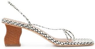 REJINA PYO Snakeskin Sandals