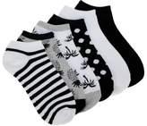 Famous Footwear Women's 6 Pack Tropical No Show Socks