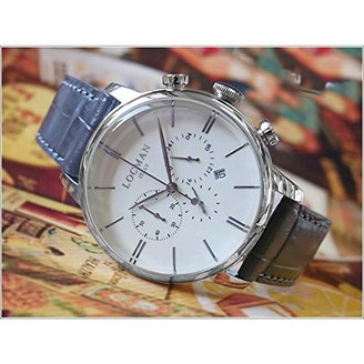Locman Analog Quartz Watch with Stainless Steel Strap Clear 3 (Model: 4573282435793)