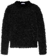 Max Mara Fringed Knitted Sweater - Black