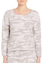 Monrow Neutral Camo Sweatshirt