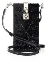 Dolce & Gabbana Embellished Plexiglass Phone Crossbody Bag