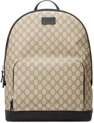 Gucci Men's GG Supreme Canvas Backpack